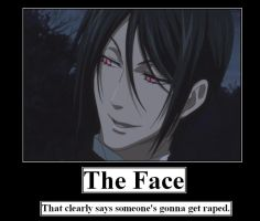 The Face That Rapes... by MercyAntebellum