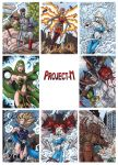 Project-M Sketch Cards 1 by tonyperna