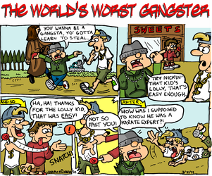 The World's Worst Gangster - 1 by WizzKid97