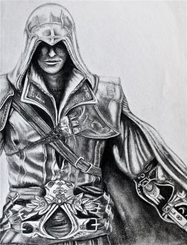 Ezio Auditore Da Firenze by Aestera