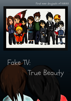 Doujinshi *Fake TV: True Beauty* Cover by HMNA