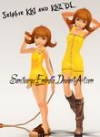 {MMD Download} KH1 + KH2 Selphie by MariCorsair