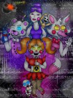 Fnaf: Sister Location (In my style) by WolfyWolfHUN