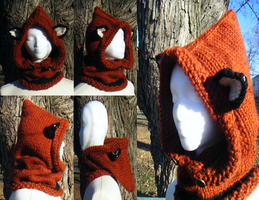 Fantasy Fox Cowl - Main Color Spice by Arexandria