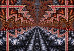 Fractal Path by Rozrr
