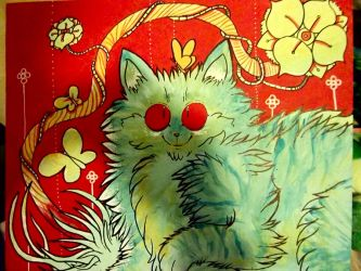 thank you louis wain by wimpod