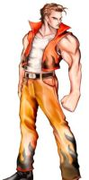 double dragon Jimmy by andymcartus