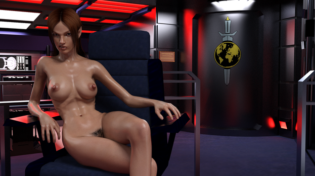 T'pol Taking Control by ArcaneVonOblivion