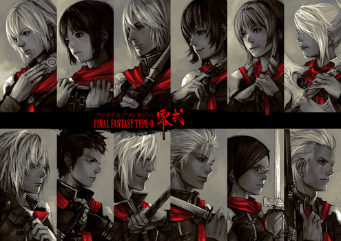 datworks: Final Fantasy type-0 by zuqling