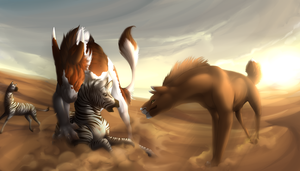 Hunting 2/3 by Elekses