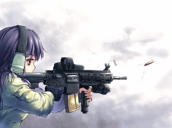 HK417 by The3rdcow