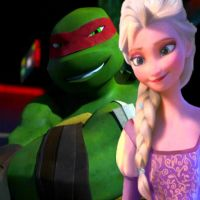 Raph and Elsa :) by NinjaTurtleFangirl
