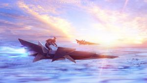 Go home from work on Titan by Tohad