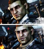 Varric Tethras + Quote by lucylucycoles