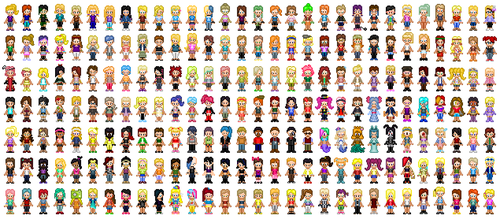 Character Sprites by Mallory36