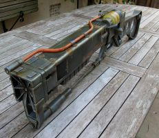 Fallout 3 AER9 Laser Rifle 5 by Thomasotom