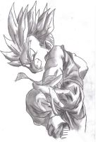 Trunks ssj by DBztmk
