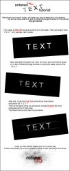 octanes basic text tutorial by Adrenaline7801