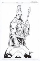 Leonidas, Spartan Hoplite by Kid-Destructo
