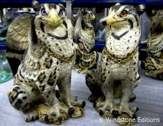 Ocelot griffins by Reptangle
