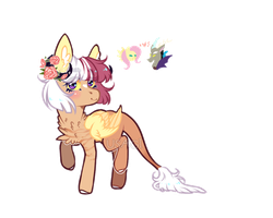 Fluttercord child | Auction | Closed by Kitten-in-the-jar