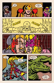 Lady Spectra and Sparky: Enemy of My Enemy pg.14 by JKCarrier