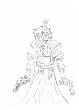 Dante: Devil May Cry -Sketch- by Cazper016