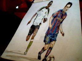 Messi by darrenTyrie