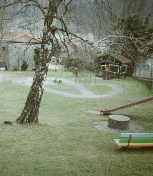 Silent playground by Martigot