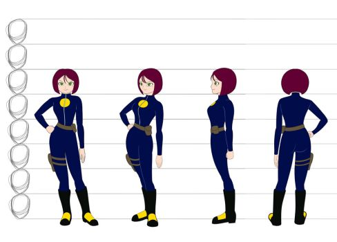 Agent Nightsun - turnarounds by chad-spider