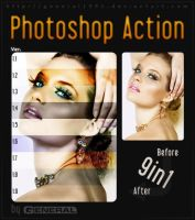 Photoshop Action Ver.1.1 - 1.9 by General1991