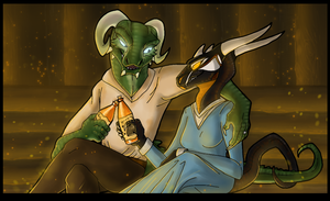 Some Honningbrew, Dear? by Sketch-SF