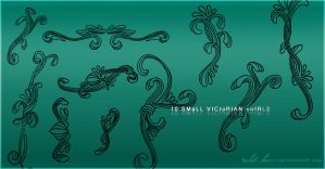 Victorian Swirls - PS brushes by Elvynn