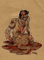 The Zombie Mosaic by DenisM79