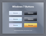 Windows 7 Buttons by easydisplayname