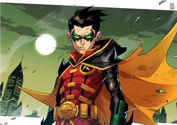 Teen Titans: Robin by kevinTUT
