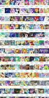 MLP Character Scorecard by MrAnimatedToon