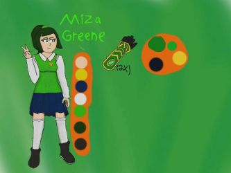 Miza Greene OC reference by krispy1264