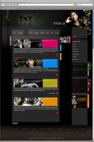 Website DJ and Artist Agency by D72