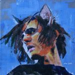 Mikey with cat ears by ihni