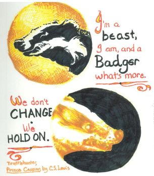 For the Badgers by Firiel-Archer