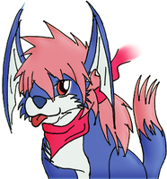 Wingal Doodle 2 - colored by ammy-chu
