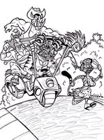 Map of Discourse Cover Pg sketch by GearGades