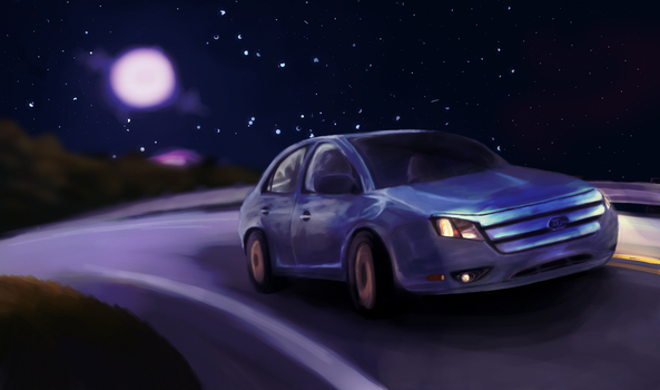 Midnight Drive by Frasty-Bayberry