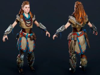 Horizon Zero Dawn - Aloy by luxox005