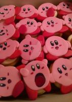 Kirby Cupcakes by MrsJT91