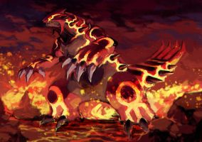 Omega - Groudon by Garmmon