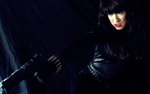 Black Widow Cosplay - Lethal Force 2 by ozbattlechick