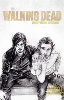 Rick and Daryl  TWD- season 4 - Brothers Grixon by zelldinchit