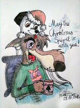 AS Christmas Project 2016: The Christmas Spirit by OraTheRebelKitsune